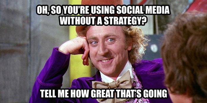 b2b social media example